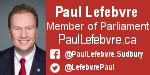 Paul Lefebvre - MP for Sudbury